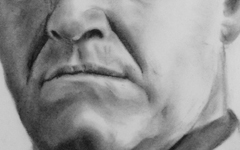 Close-up of a face